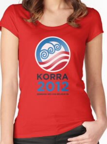 Korra 2012 Women's Fitted Scoop T-Shirt