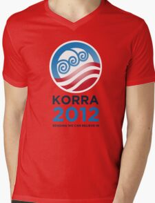 Korra 2012 Mens V-Neck T-Shirt