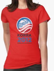 Korra 2012 Womens Fitted T-Shirt