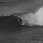 Barreled in Black and White  by Kain Swift