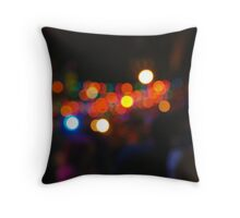 West Hollywood Lights 3 Throw Pillow