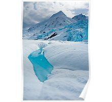 Portage Glacier Pool Poster