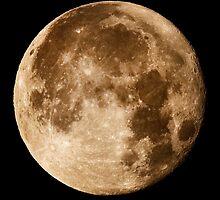 Hawaii's Super Moon by Alex Preiss