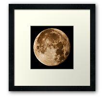 Hawaii's Super Moon Framed Print