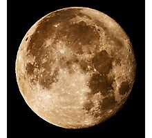 Hawaii's Super Moon Photographic Print