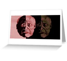 Picasso Legend Greeting Card