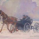 Winter Buggy Ride by Dan Wilcox