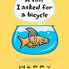 Fish Bicycle Birthday by Beesty