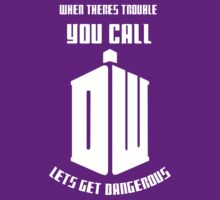 When in trouble you call DW (doctor who) by kurilord
