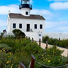 Old Point Loma Lighthouse, San Diego, CA by Jerry Philpot