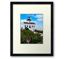 Old Point Loma Lighthouse, San Diego, CA Framed Print
