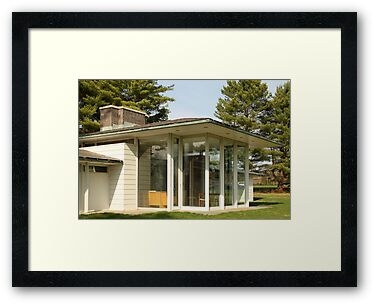 Mid Century Modern - Irwin Pool House by Jane McDougall