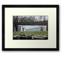 Mid Century Modern - Sculpture Gallery, Philip Johnson Framed Print