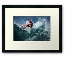 Rip Curl Pro 2012 - Bells Beach - 2 Framed Print