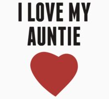 I Love My Auntie One Piece - Short Sleeve