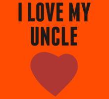 I Love My Uncle Kids Tee