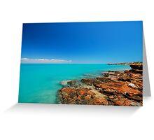 Broome Waters Greeting Card