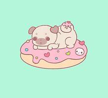 donut pug by Clothescrazy01