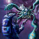 The Thing in the Passageway by Matt Bissett-Johnson