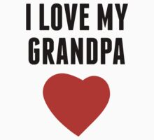 I Love My Grandpa One Piece - Short Sleeve