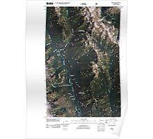 USGS Topo Map Washington State WA Trinity 20110427 TM Poster