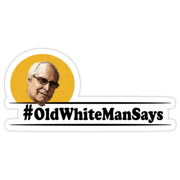 #OldWhiteMan by bass-twitch
