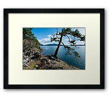St. john Point Hill Framed Print