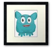Monster Cute Framed Print