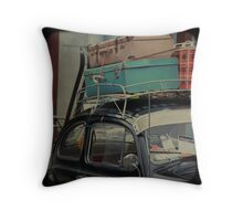 All Packed Up Throw Pillow