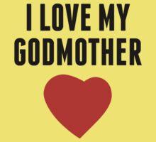 I Love My Godmother One Piece - Short Sleeve