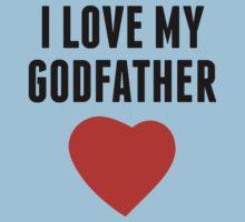 I Love My Godfather Baby Tee