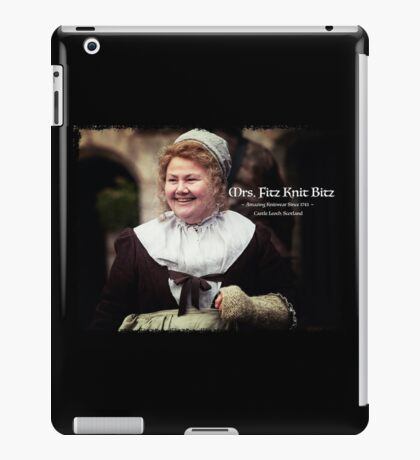 Mrs. Fitz Knit Bitz iPad Case/Skin