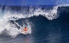 Surfer At Banzai Pipeline 2011.3 by Alex Preiss