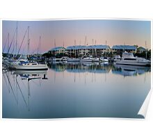 Dawn over Raby Bay - Qld Australia Poster
