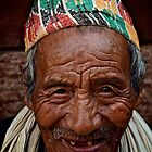 Nepali Elder by Valerie Rosen
