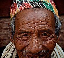 Nepali Elder by Valerie Rosen