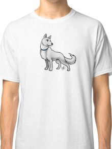 German Shepherd White Classic T-Shirt