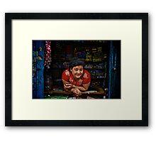 Nepali Lady Framed Print