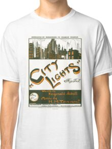 CITY LIGHTS (vintage illustration) Classic T-Shirt