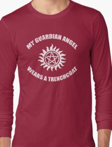 Supernatural Castiel Guardian Angel Long Sleeve T-Shirt