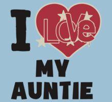 I Love My Auntie One Piece - Short Sleeve