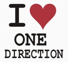 I LOVE ONE DIRECTION by Melissa Ellen