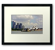 Three icons Framed Print