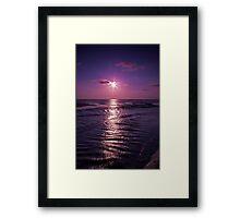 Sunset Calm Framed Print