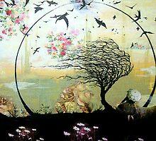 Girl under Tree by Julietg