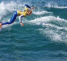 Rip Curl Pro 2012 - Bells Beach - 3 - Kai Otton by John Conway