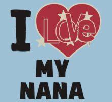 I Love My Nana Kids Tee