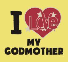 I Love My Godmother Baby Tee