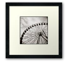 { ferris day out } Framed Print