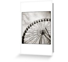 { ferris day out } Greeting Card